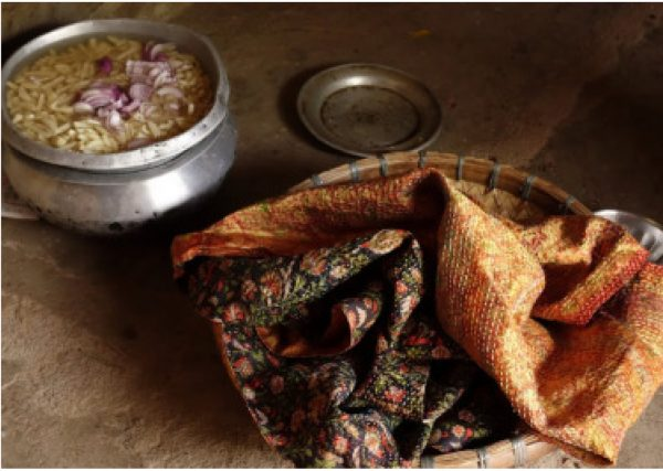 Kantha's embroideries