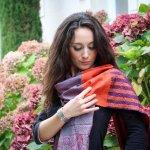 Etole en patchwork et broderie kantha créée par Melissade Valera pour Takla Makan