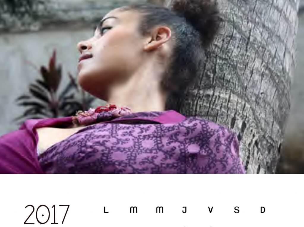 calendrier 2017 pour voir l'année en couleur et en beauté avec Takla Makan Slow fashion