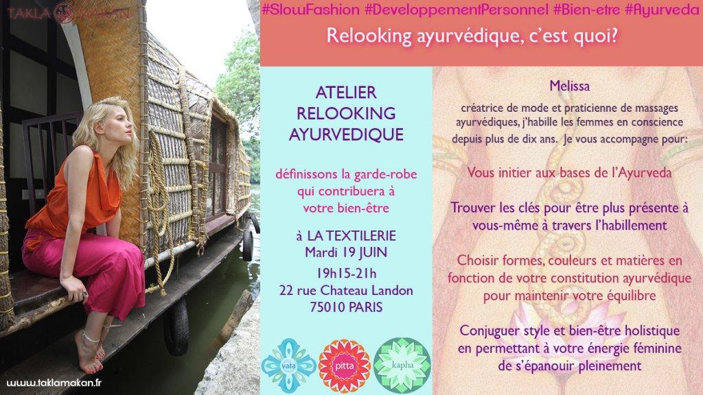 Melissa de Valera habille les femmes en conscience avec le relooking ayurvédique à la textilerie de Paris
