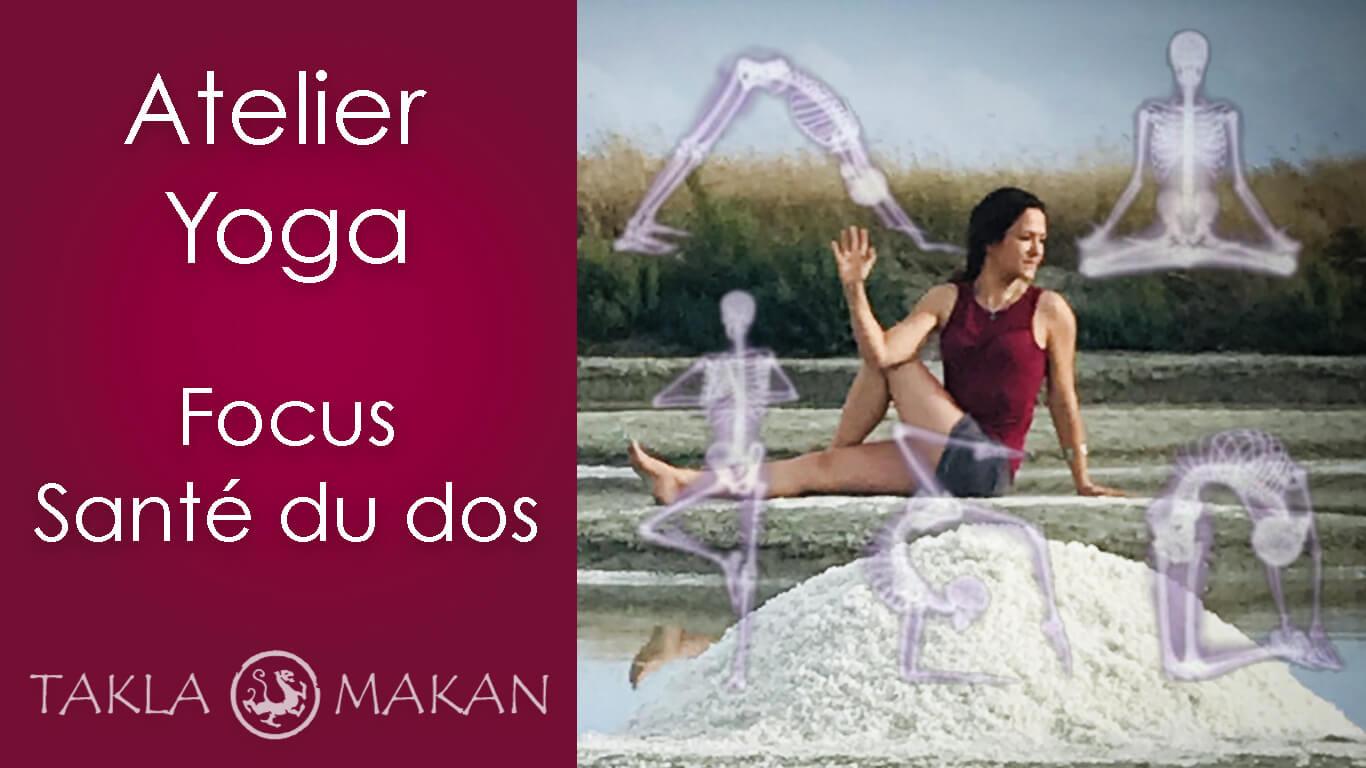 melissa de valera donne un atelier de yogathérapie