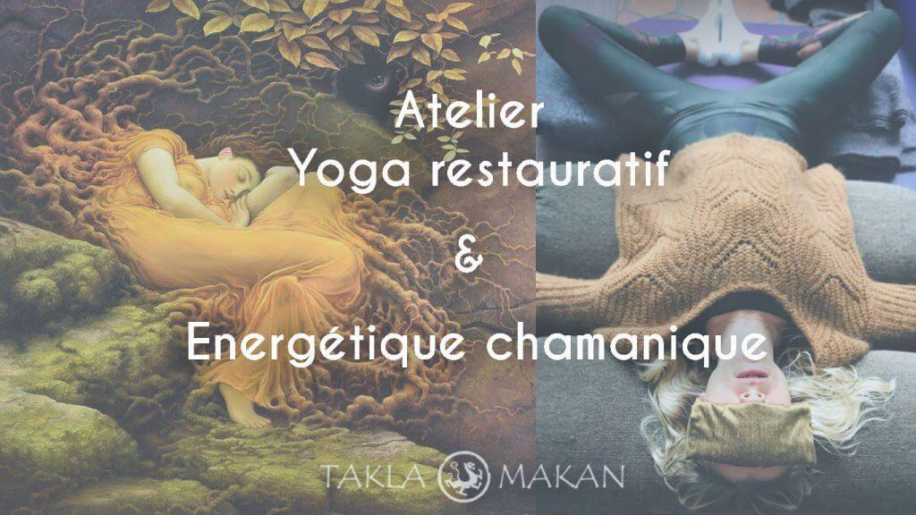 yoga restauratif et chamanique par melissa de valera