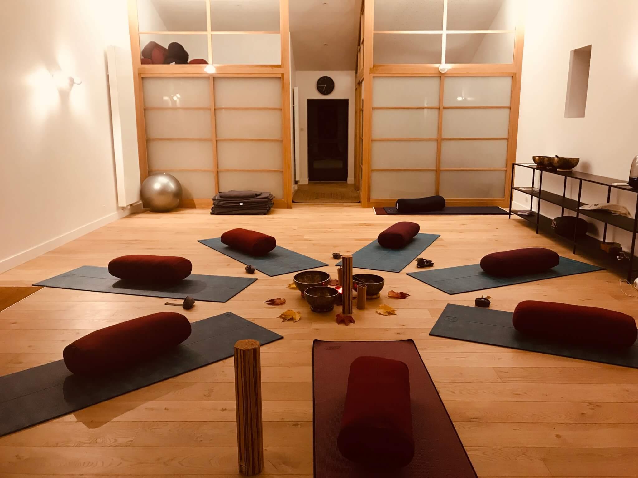 Yoga avec Melissa de Valera