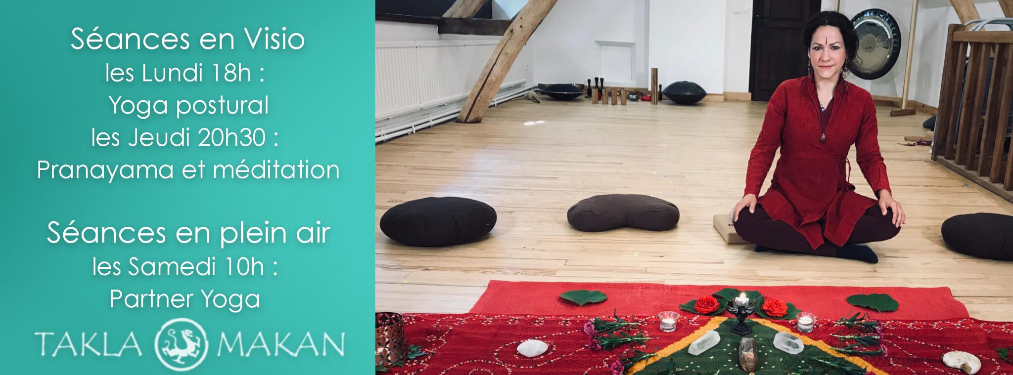 Yoga pranayama meditation avec Melissa