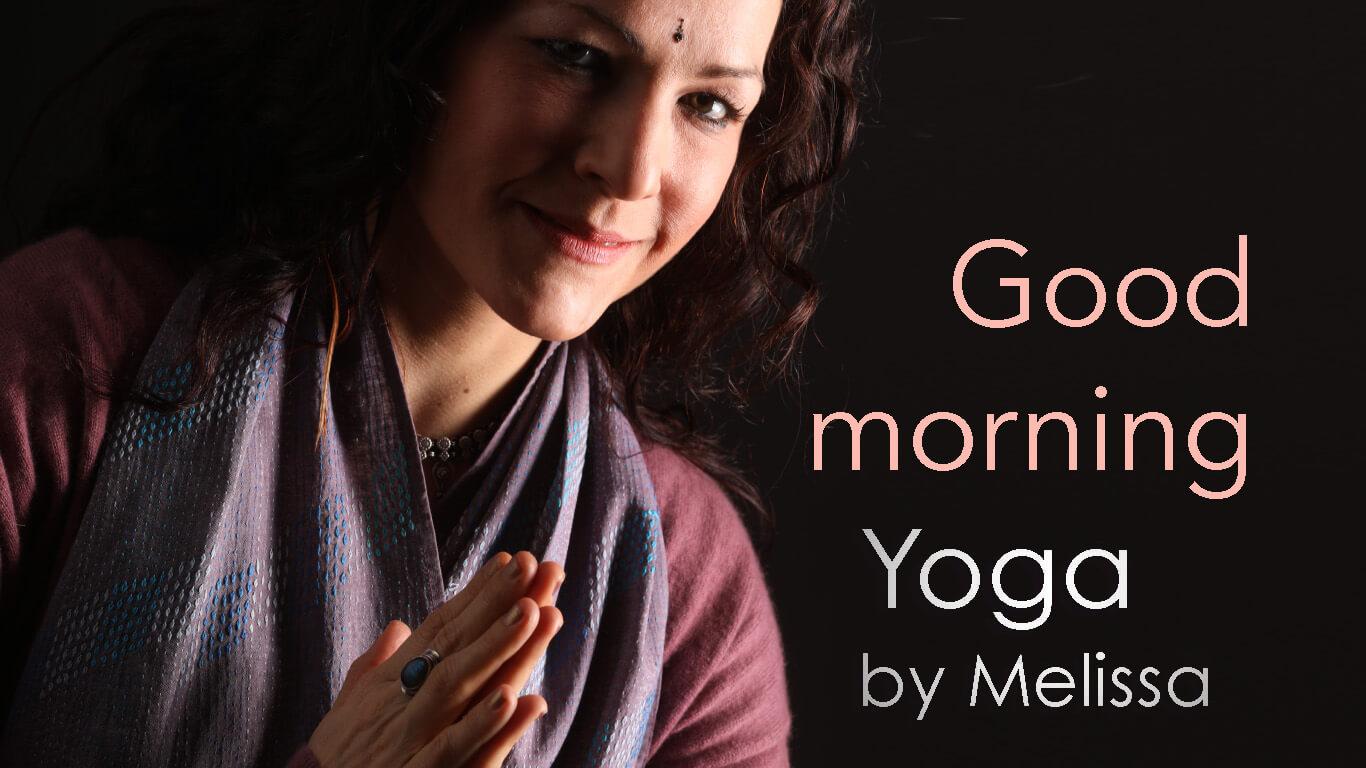 good morning yoga avec melissa de valera
